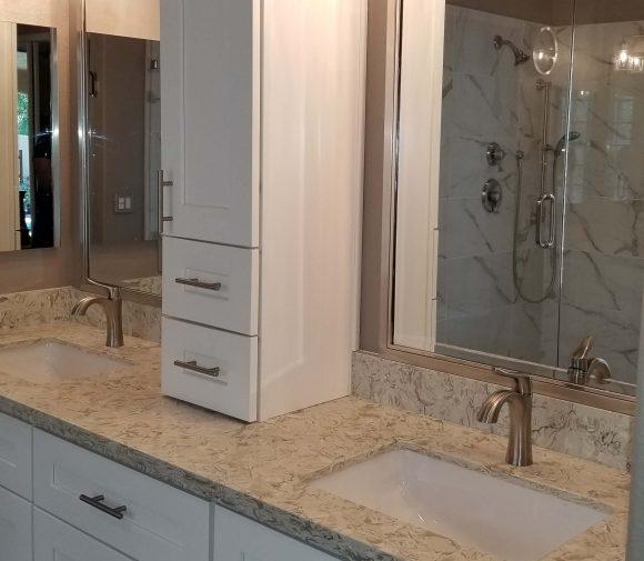 CUSTOM SHOWER & MASTER BATHROOM