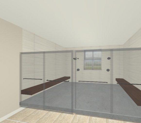 Master Bathroom 3D